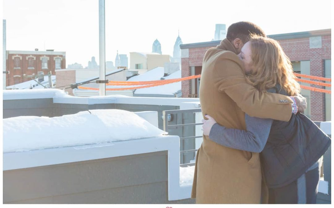 A Surprise Proposal at a Couples New Home | Dana & McKinsey