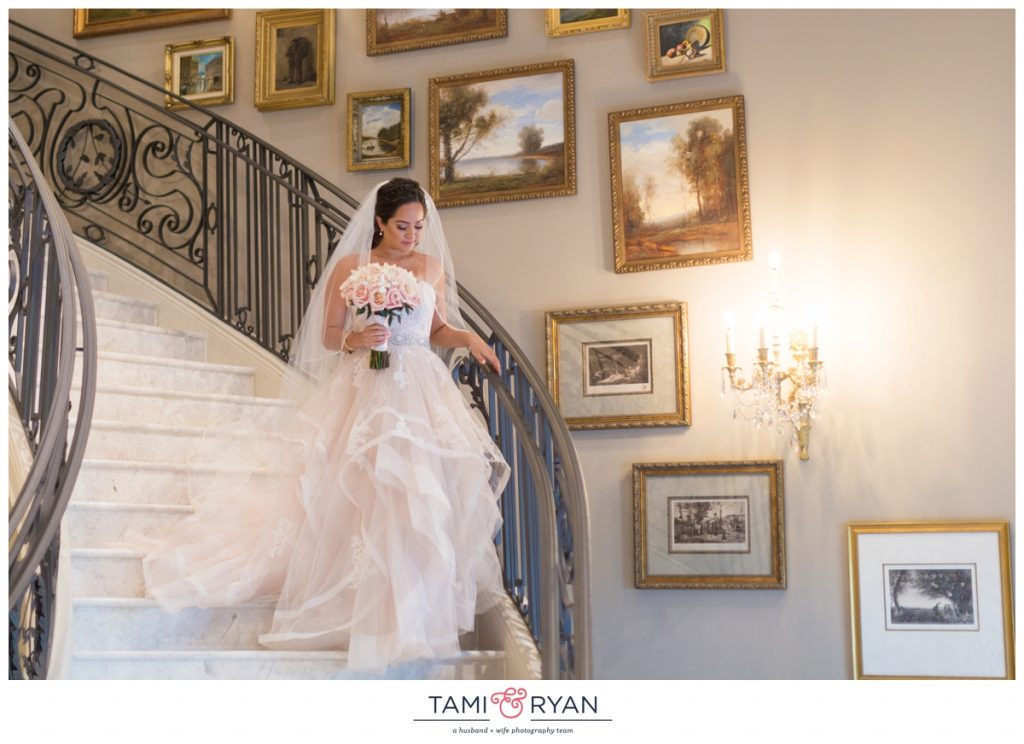 park chateau first look grand staircase