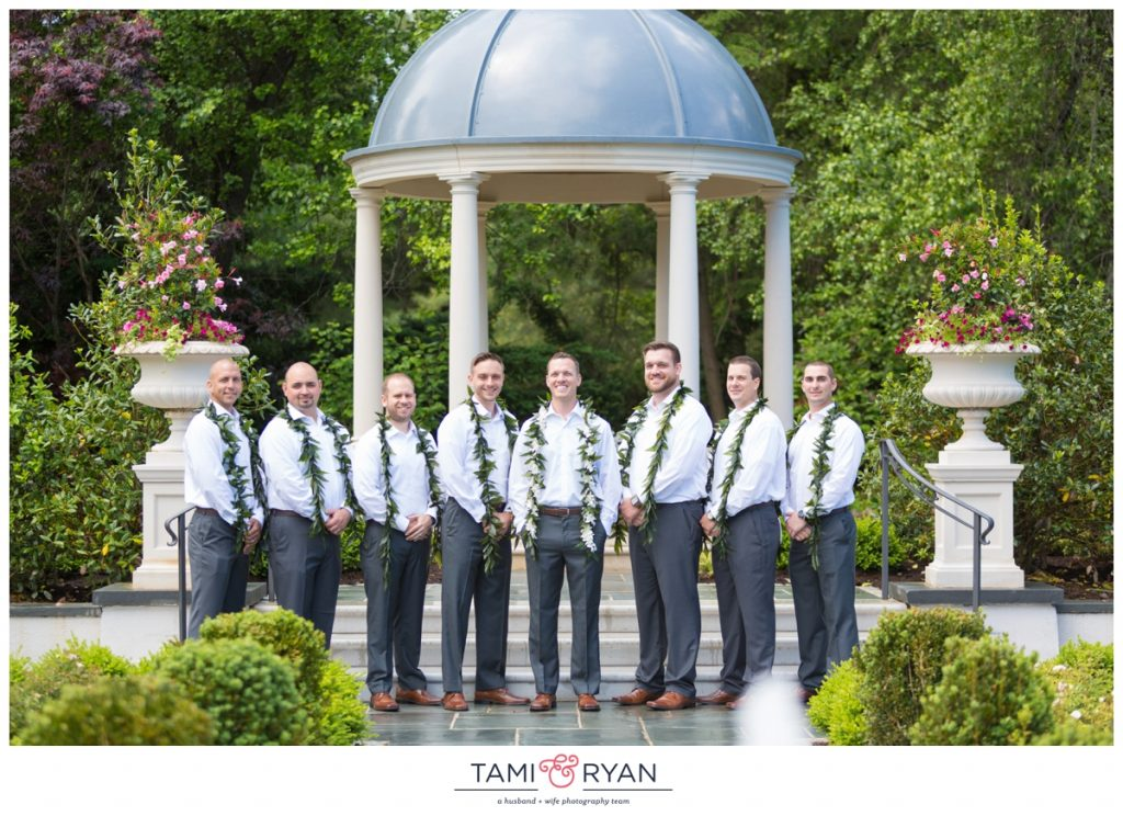 bridal party park chateau