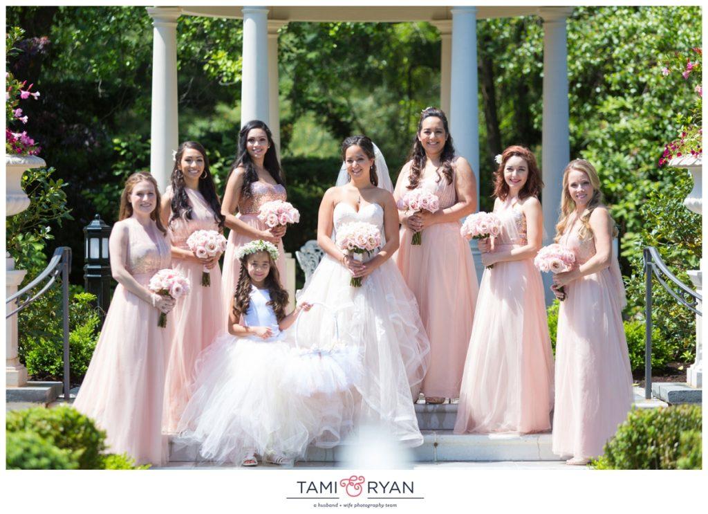bridal party park chateau