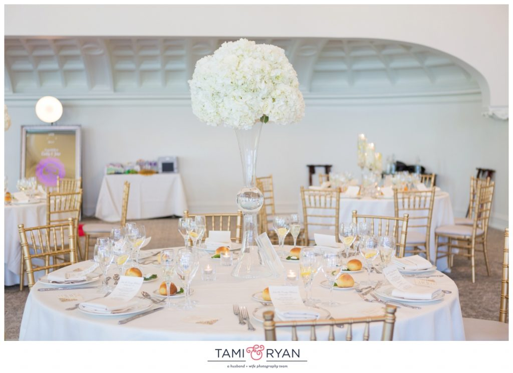 park chateau ballroom wedding reception