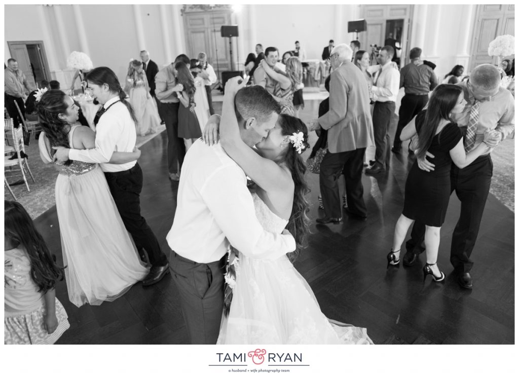 park chateau ballroom wedding reception