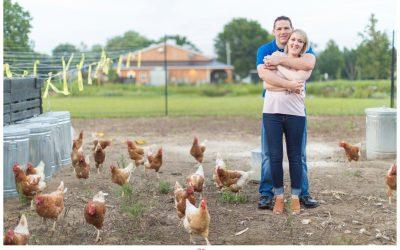 A Beautiful Summer Engagement at Cecil Creek Farm | Alyssa & Gary