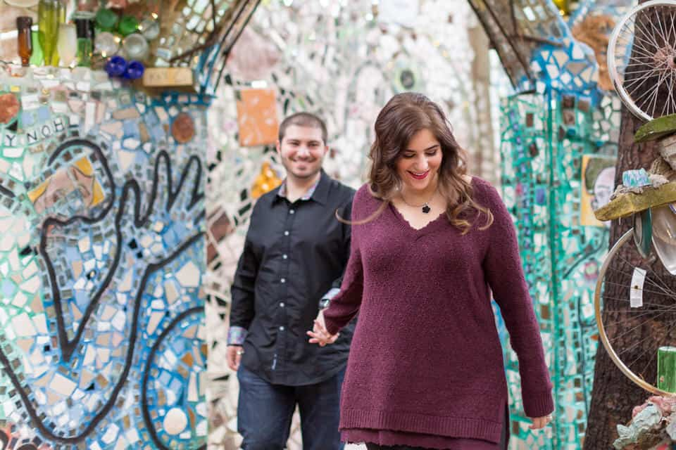 Marissa-David-Philadelphia-Magic-Gardens-Old-City-Franklin-Foundtain-Engagement-Photography-0052