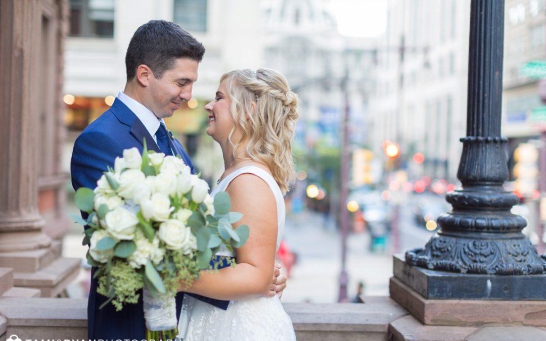 Fabulous Fall Wedding at the Union League of Philadelphia | Mackenzie + Armand
