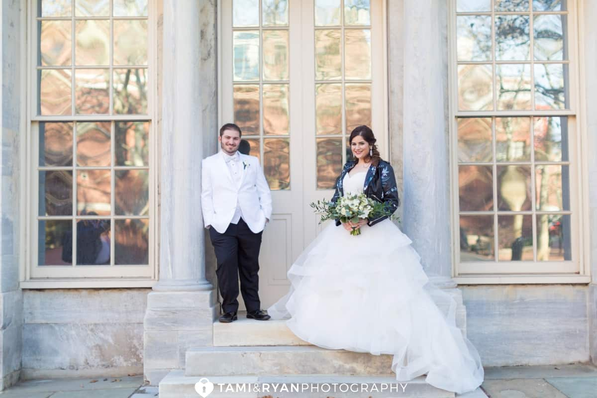 bride groom philadelphia merchants exchange