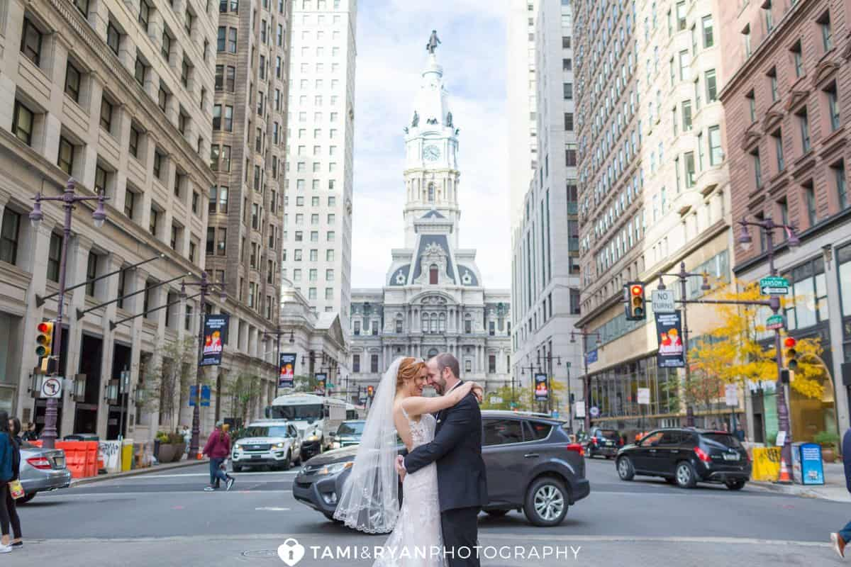 bride groom philadelphia city hall