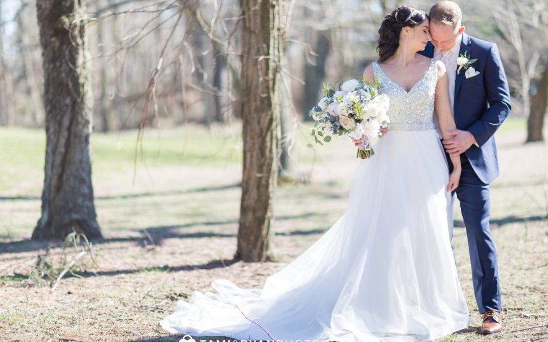 A Beautiful Spring Wedding at Lucien's Manor | Larissa & Chris