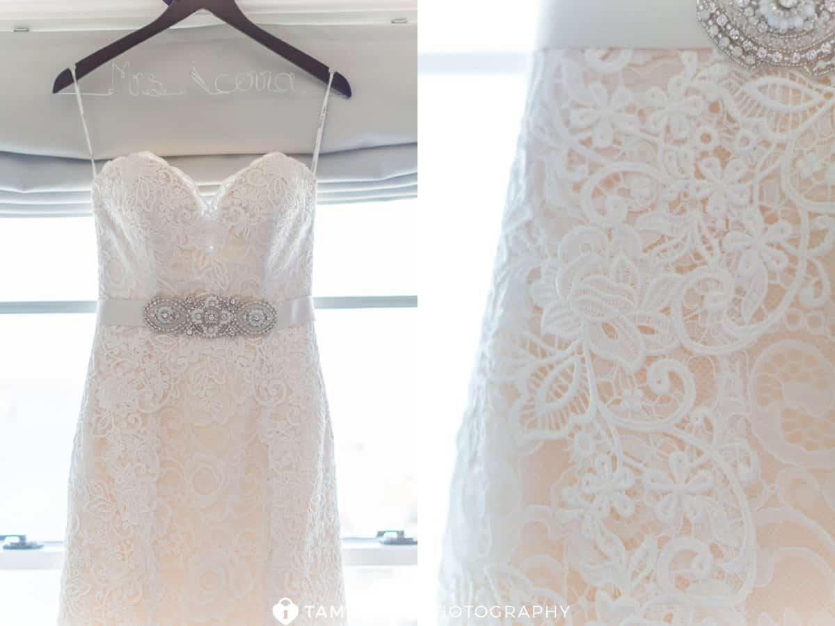 bride gown belt