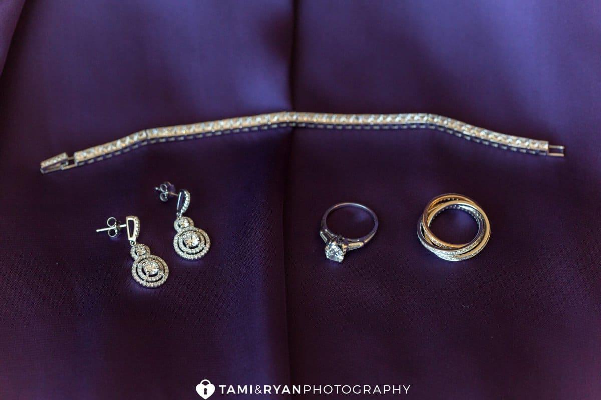 purple bride jewelry