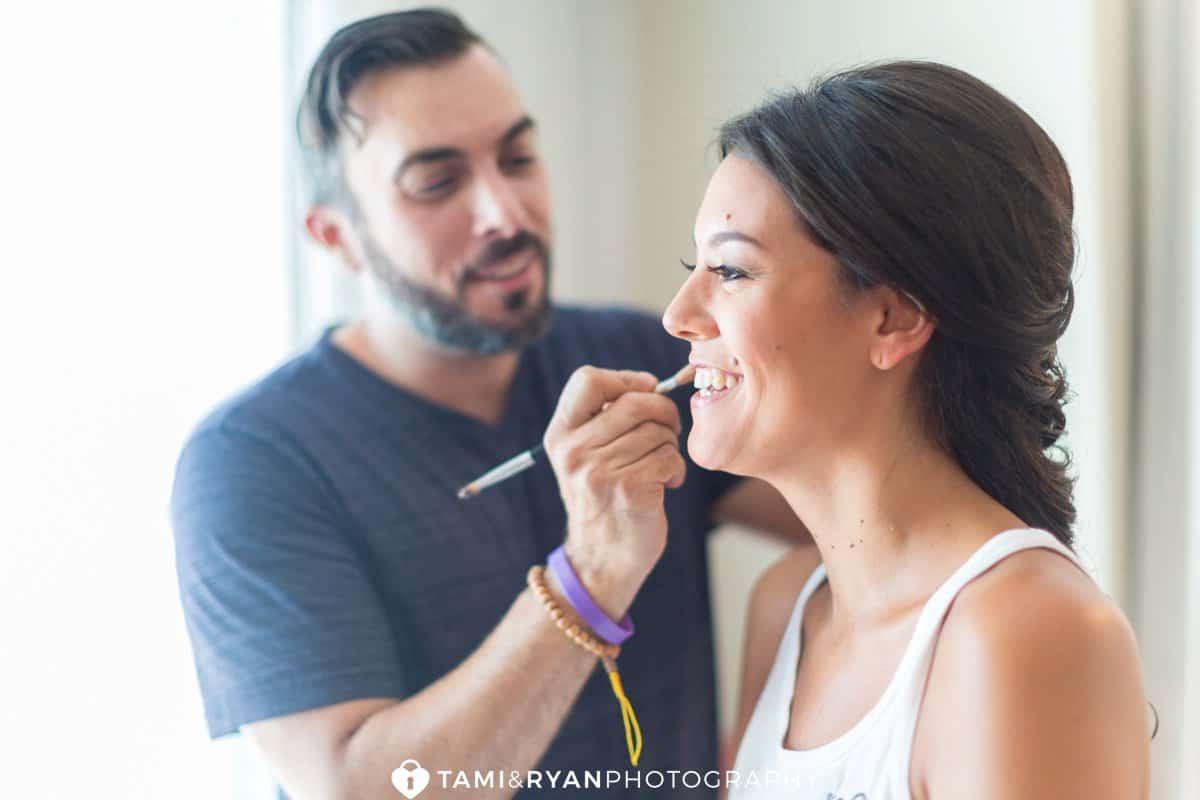 bride makeup artist