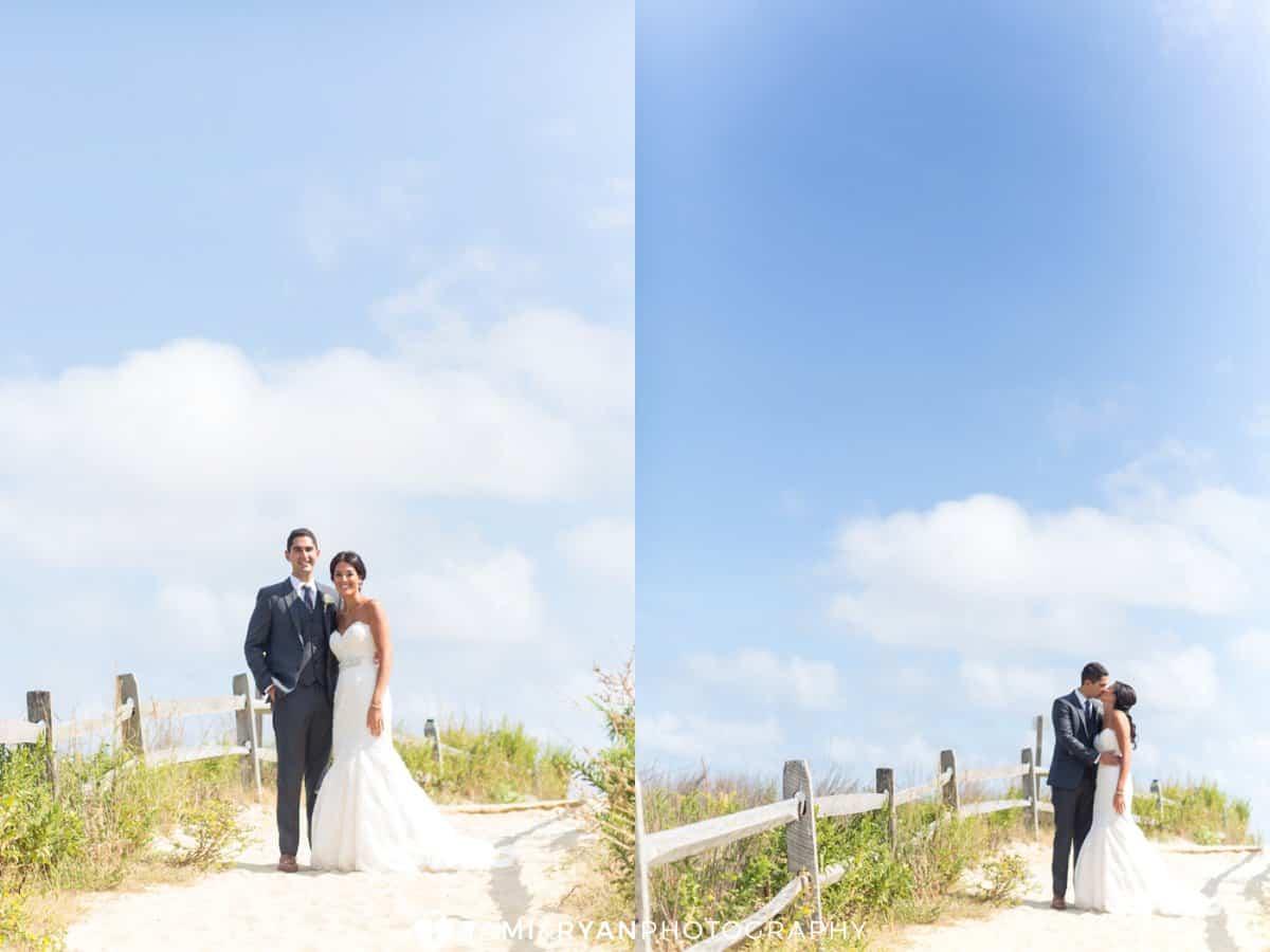 bride groom stone harbor beach