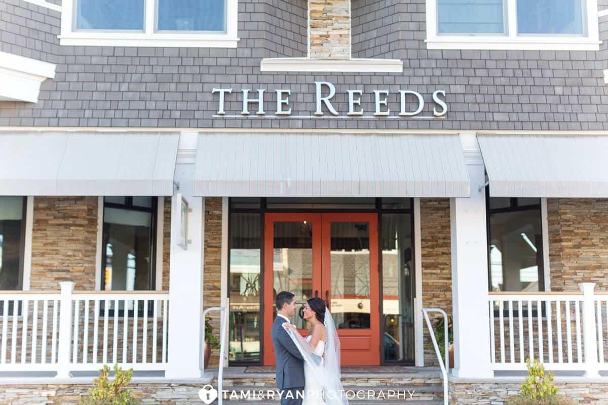 bride groom reeds