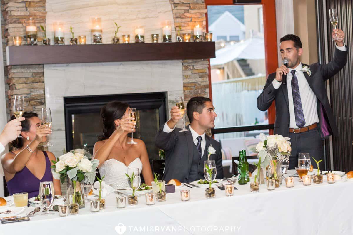 bride groom toasts