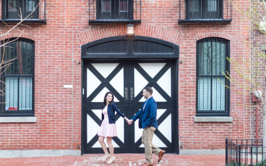 A Romantic Rittenhouse Square Engagement Session | Ashley & Mark