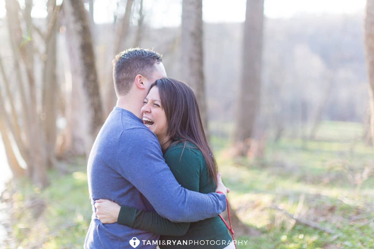 valley forge national park engagement session