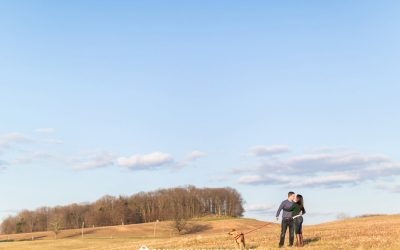 An Engagement Session at Valley Forge National Park | Lisa & Jason