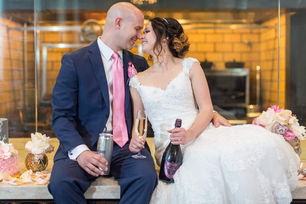aqimero bride groom ritz carlton