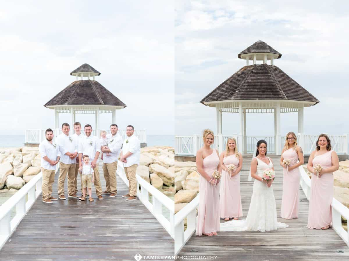 bridal party ocean deck jamaica