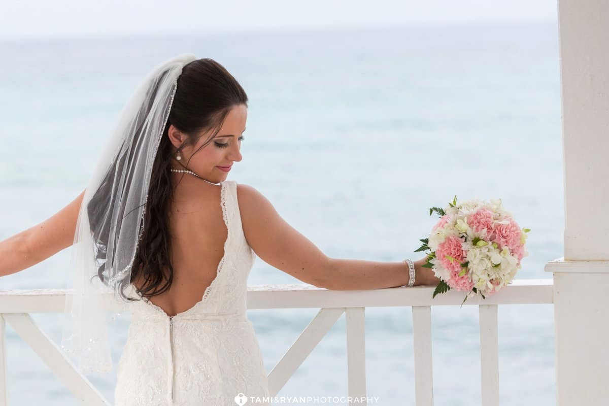 bride groom destination wedding jamaica