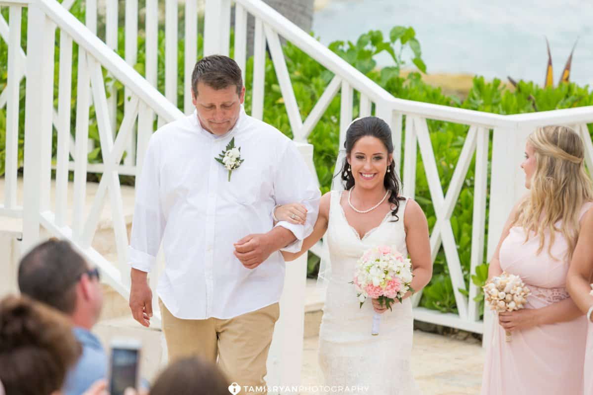 wedding gazebo ceremony jamaica destination