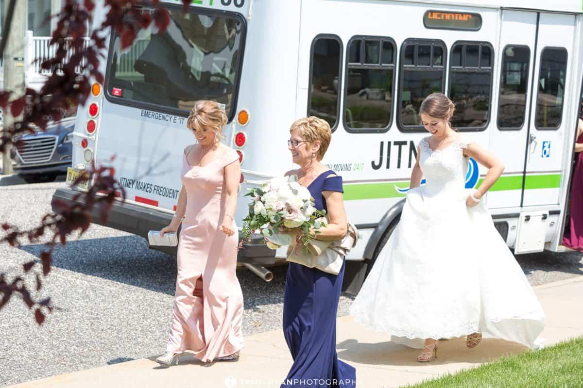 bride ceremony jitney