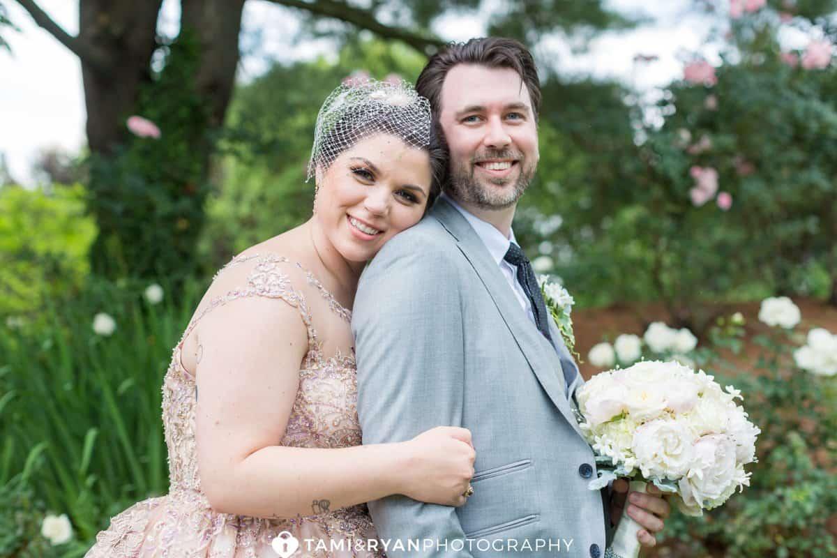 grounds for sculpture bride groom wedding