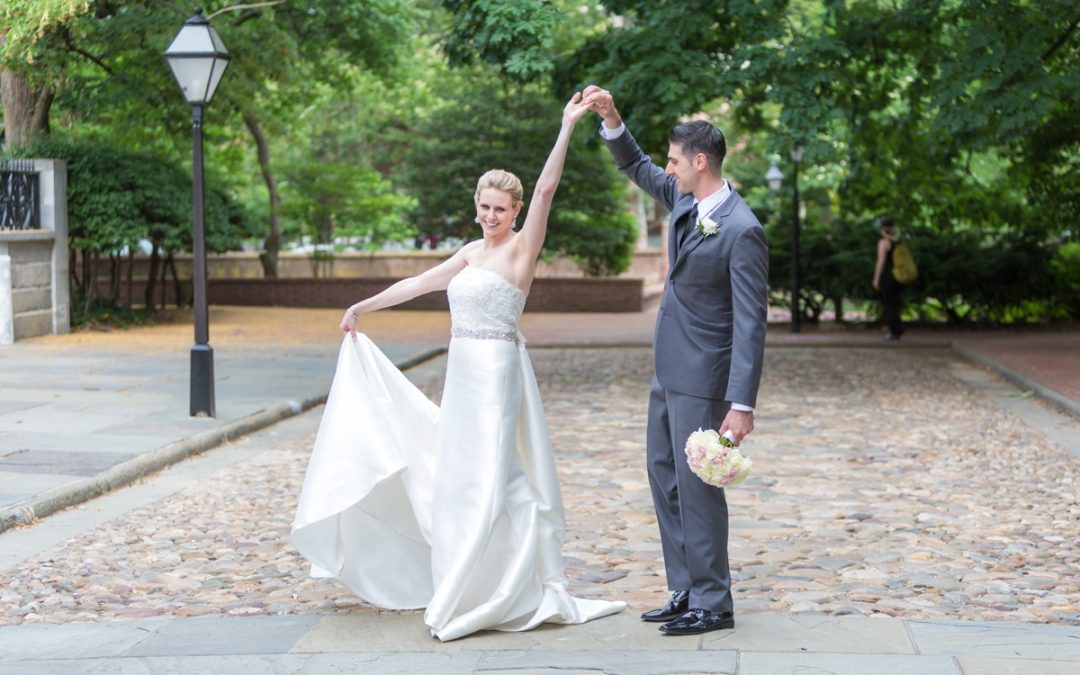 A Sentimental Wedding at Kimpton Hotel Monaco Philadelphia | Andria & Paul