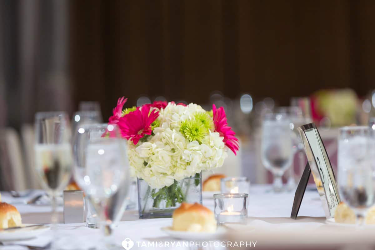 hotel monaco wedding reception details