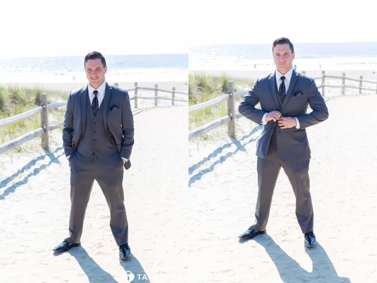 Groom Portraits Beach