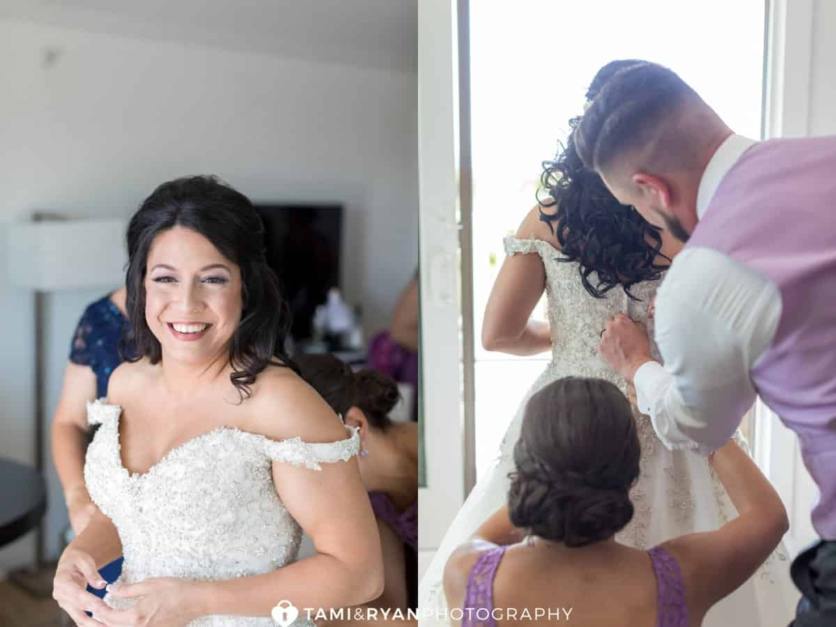 Getting Ready Icona Avalon Wedding