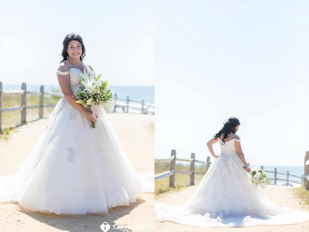Bride Groom Portraits Avalon Jersey Shore