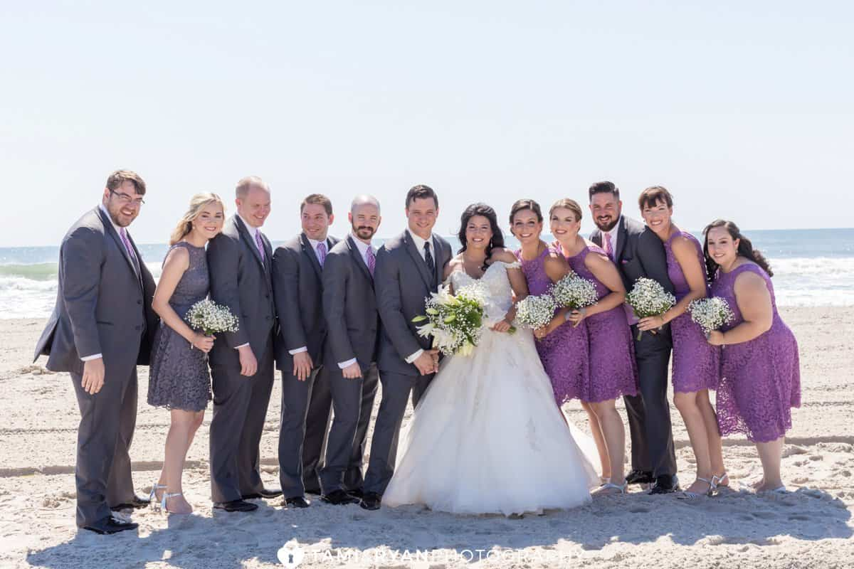 Bridal Party Portraits Jersey Shore