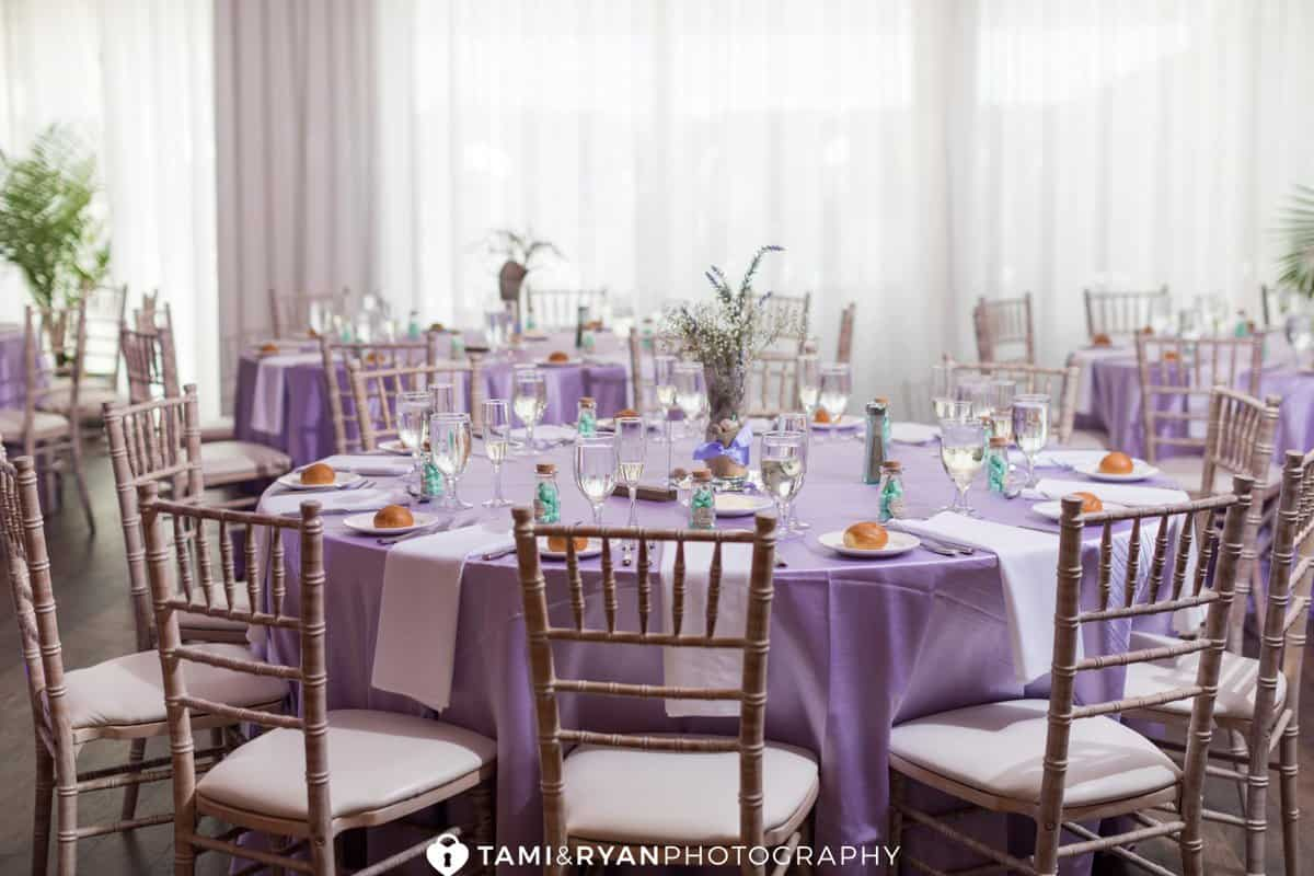 icona avalon wedding reception details