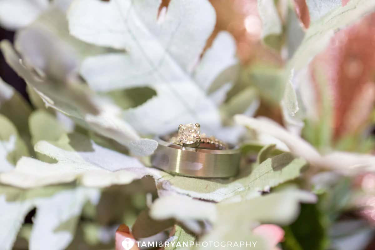 bride groom ring shots