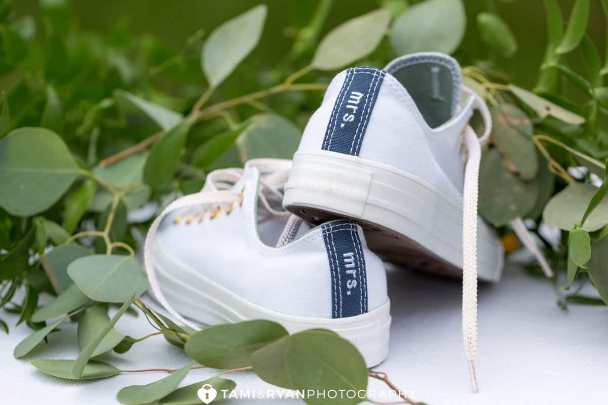 mrs converse bride shoes