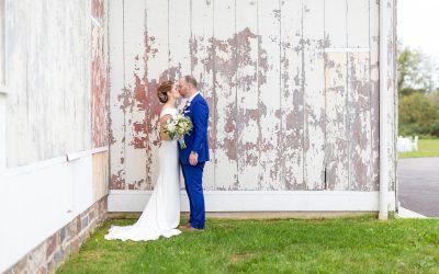 A Misty, Magical Updike Farmstead of Princeton Wedding | Katie & Drew