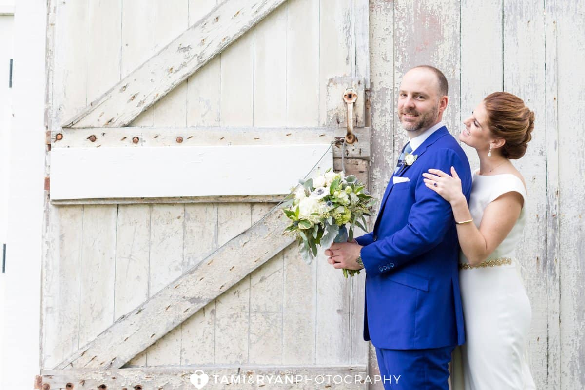 rustic bride groom portraits updike farmstead