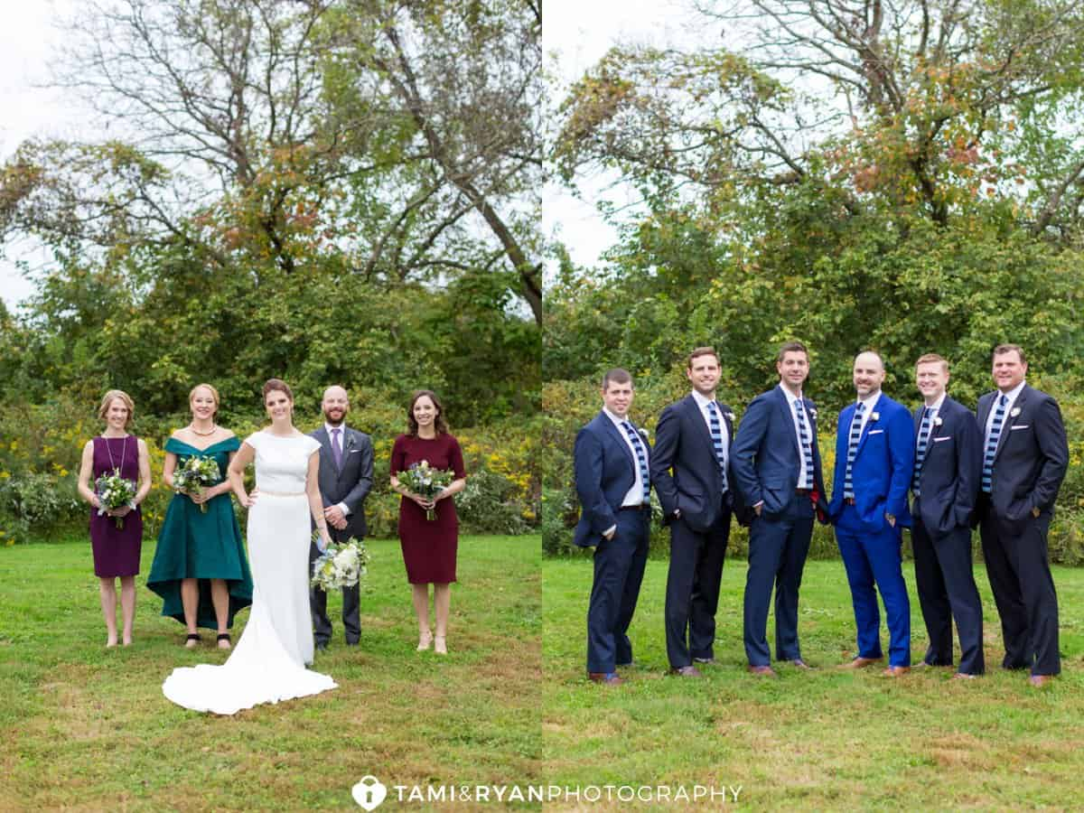 bridal party updike farmstead