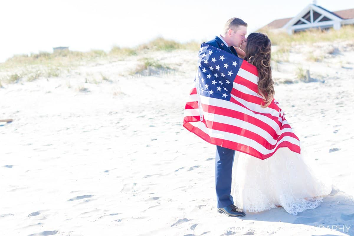 bride groom military portraits beach