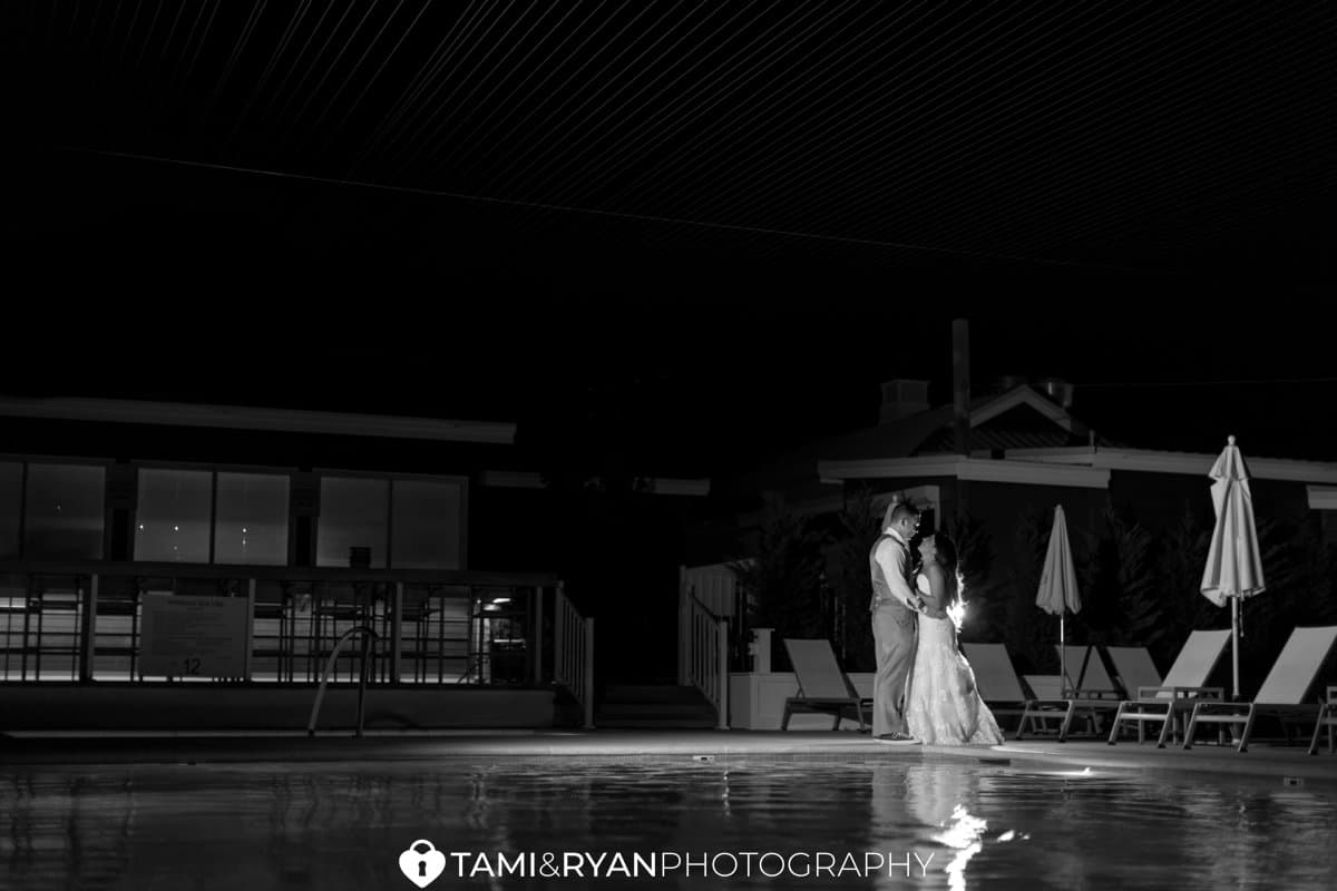 bride groom icona avalon night portraits romantic