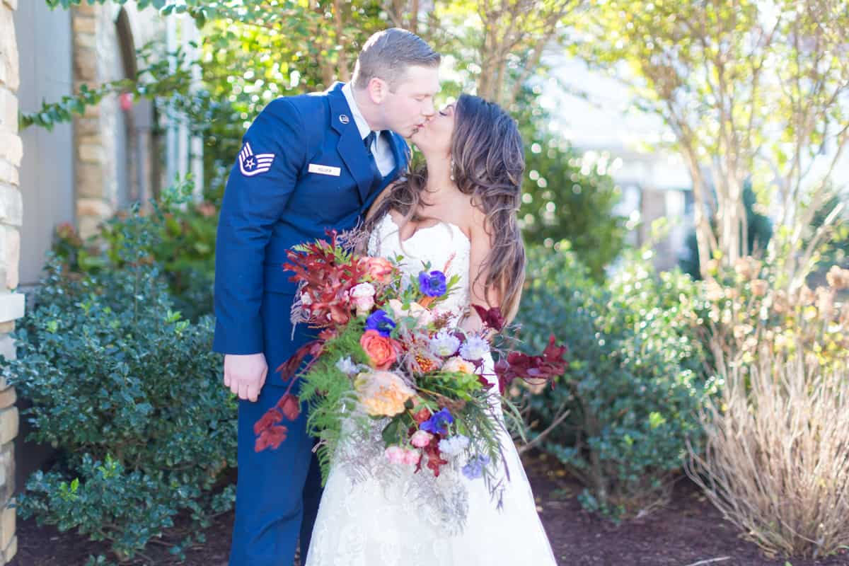 military rustic icona avalon wedding