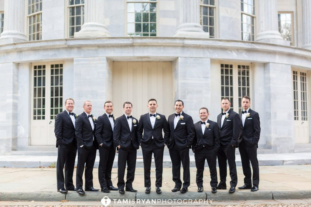 merchants exchange philadelphia bridal party