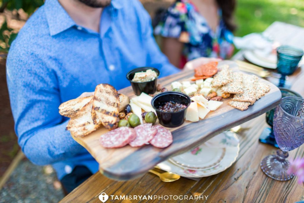 hill creek farms rehearsal dinner