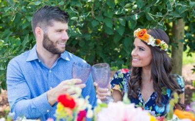 Hill Creek Farms – Farm to Table Wedding Rehearsal Dinner Inspiration