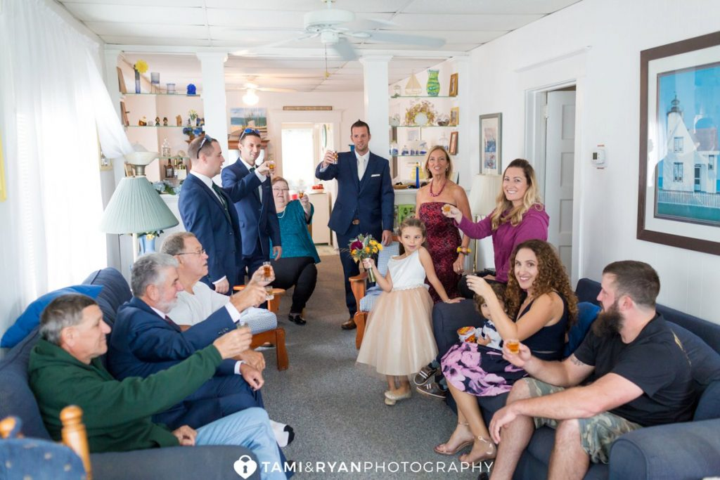 groom family toast