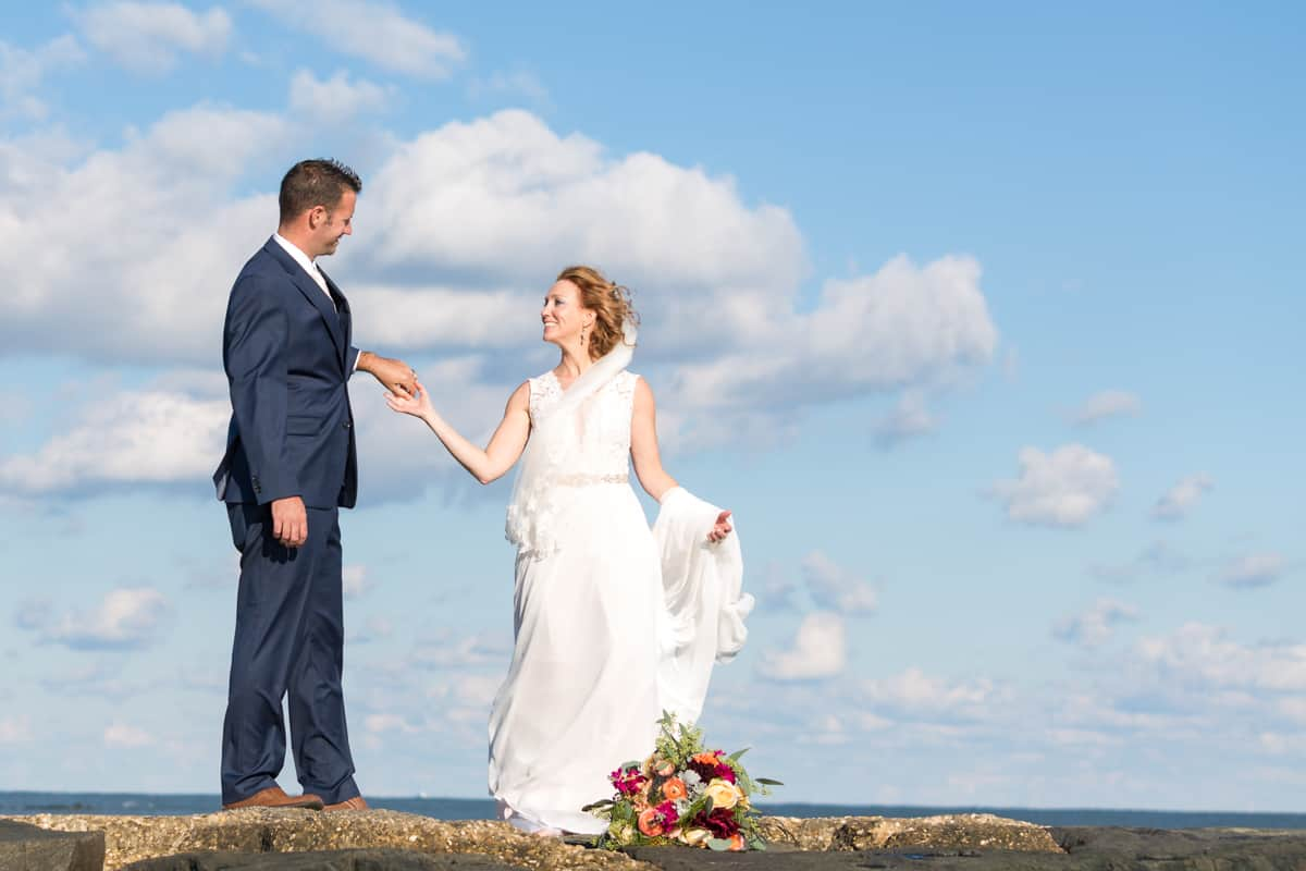 ocean city wedding
