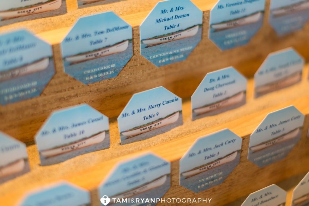 ocean city yacht club wedding details