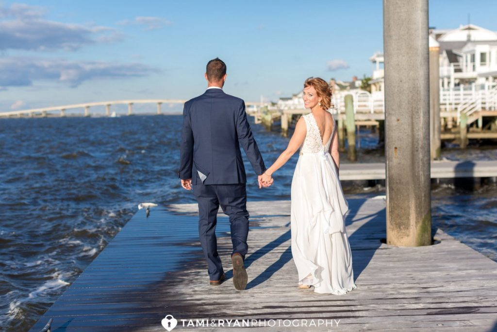 ocean city yacht club wedding photography