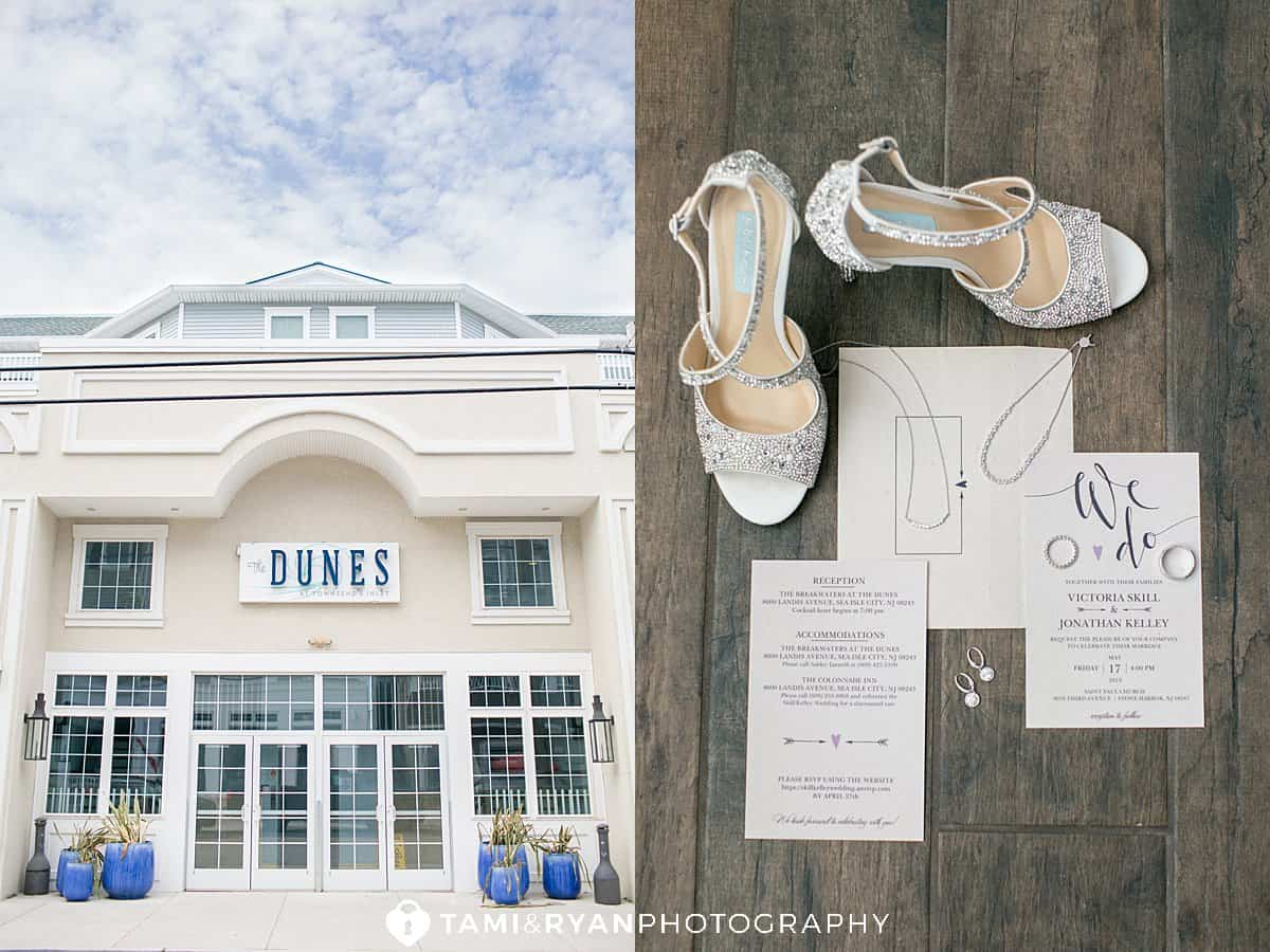 breakwaters at the dunes wedding details